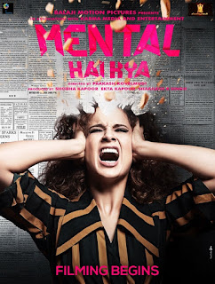 Mental Hai Kya First Look Poster 7