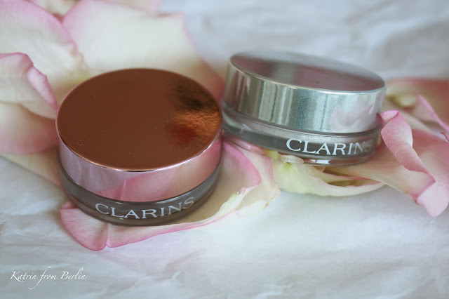 cream eyeshadows pink white