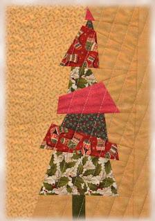 текстильные елочки