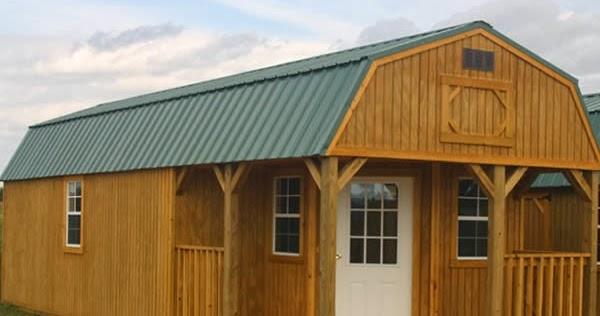 Sweatsville: Deluxe Lofted Barn Cabin