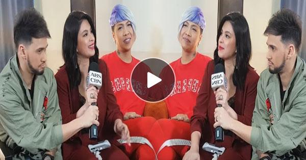 """""""Ang Bango Mo!"""" Vice Ganda Exclaimed As Angel Locsin Sat Beside Him!"""