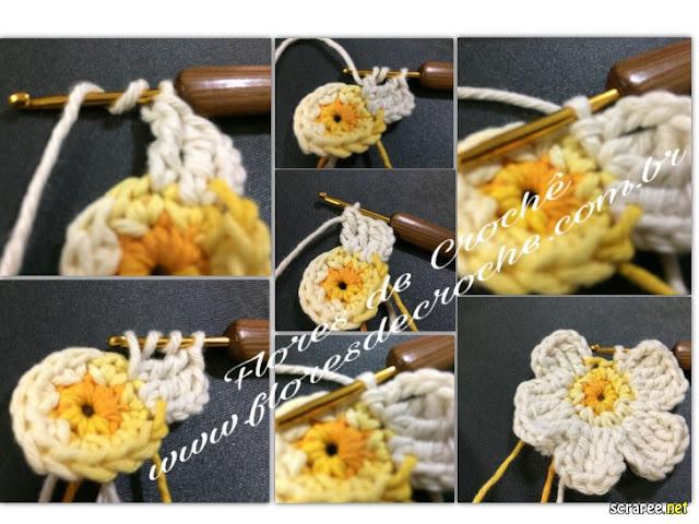 flores de croche barroco