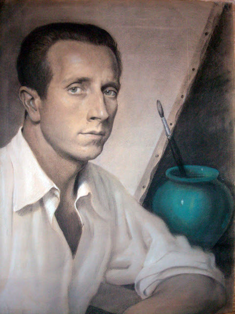 Rufino Martos, Self Portrait, Portraits of Painters, Fine arts
