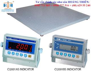 Dòng cân sàn điện tử cas ci-200 1.5mx1.5m