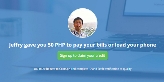 How to earn 50 pesos just by inviting someone to sign up? | Jeff Man