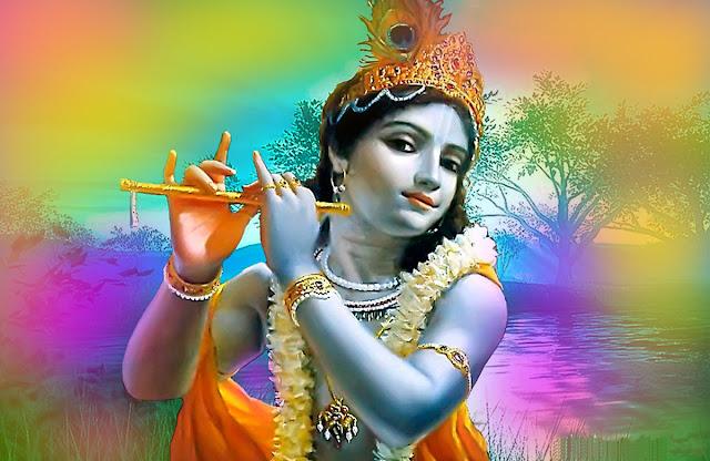 Best Hindu God Krishna Lovely  Wallpaper For Your Mobile