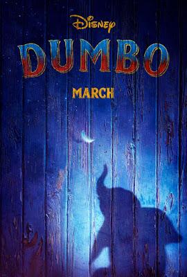 DUMBO - Tim Burton - Poster pelicula