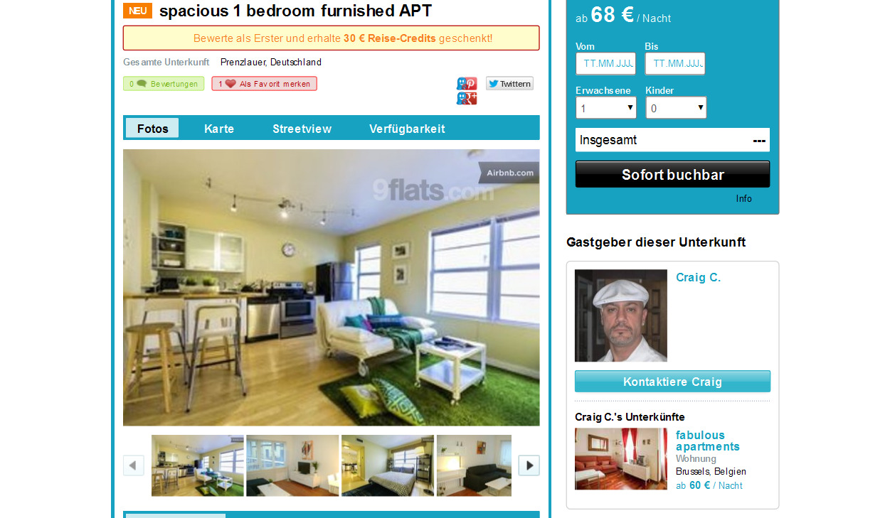 Furnished Apartments In Berlin Germany