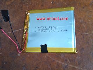 cara bongkar baterai treq A10G