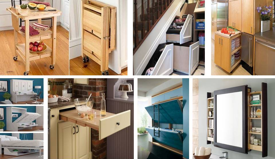 Superieur 13 Clever Space Saving Solutions And Storage Ideas
