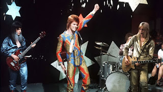 Ziggy Stardust and The Spiders From Mars em 1972