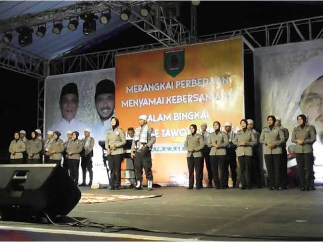 Majelis Shalawat Polres SBT Meriahkan Puncak Perayaan HUT ke 15 Seram Bagian Timur