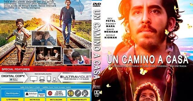 MaxCovers DVD - Gratis: Lion - Un Camino a Casa 2016 dvd cover