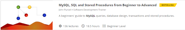 MySQL, SQL and Stored Procedures from Beginner to Advanced