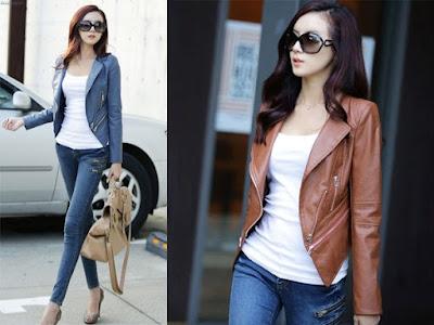 jaket jeans wanita terbaru