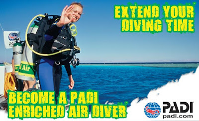 PADI Nitrox Diving - Sea Breaze