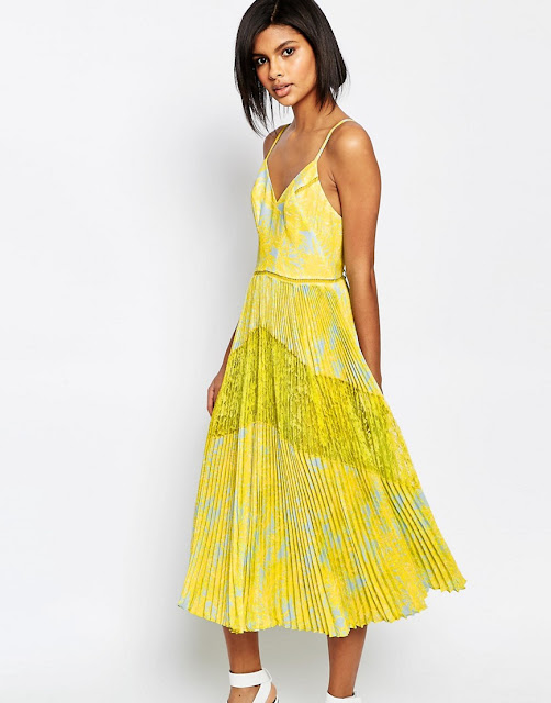 whistles yellow strappy dress, whistles iris dress,