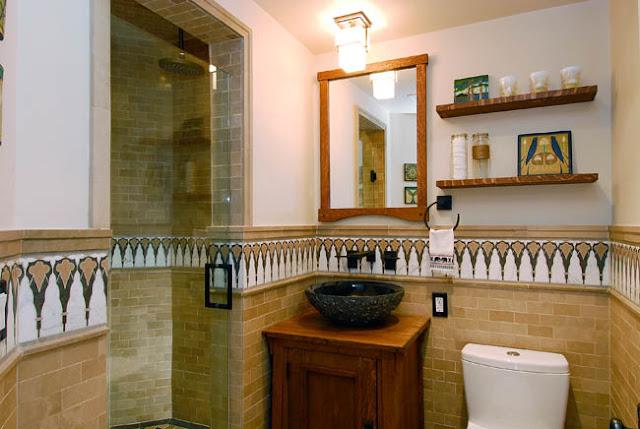 Good Home Construction - Guest Bathroom Tile Accents's Renovation Blog: Vintage Beach Bungalow ...