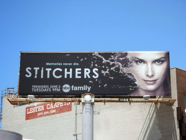 Stitchers series premiere billboard
