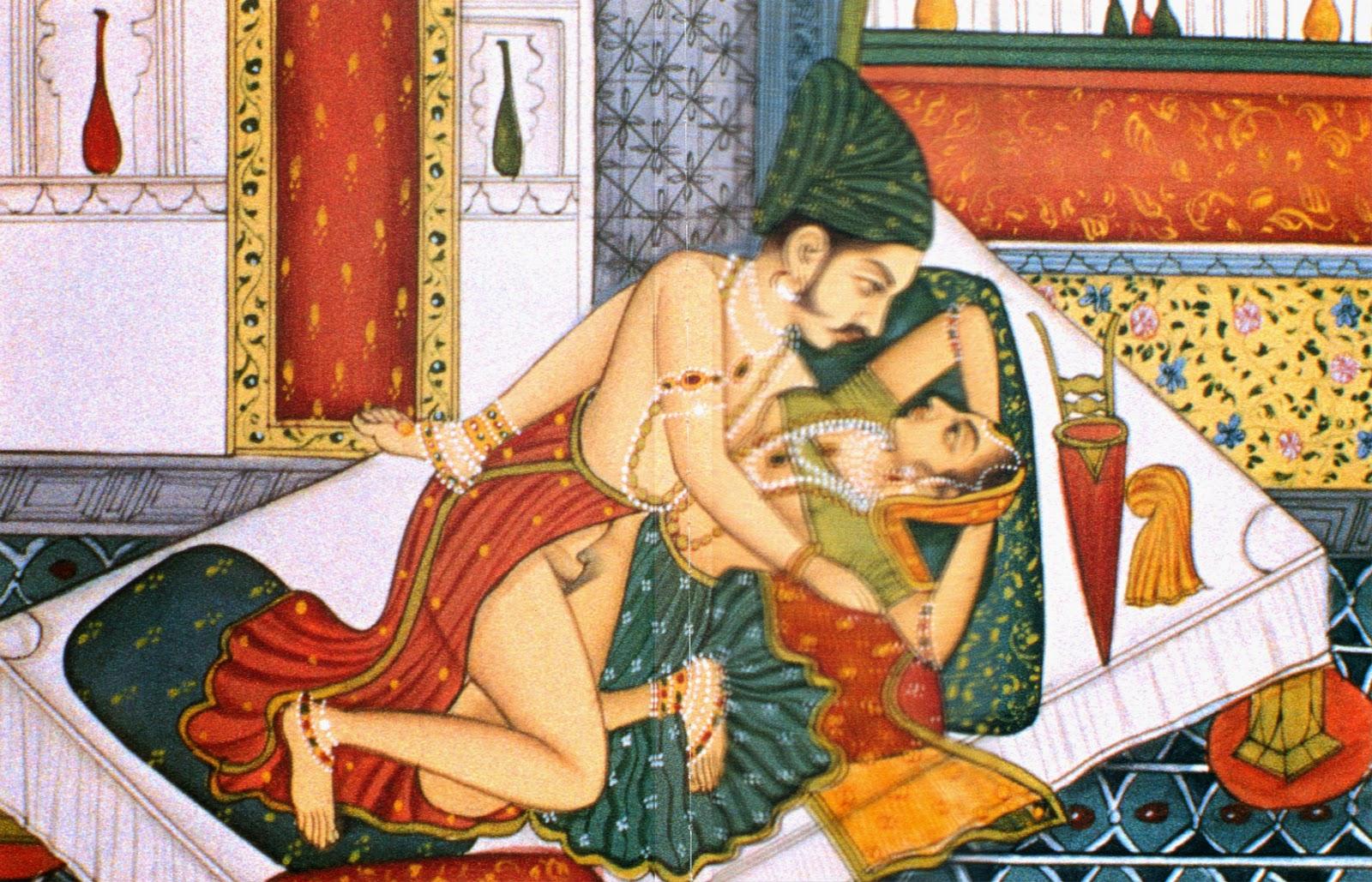 В древней индии женщины обожали кунилингус