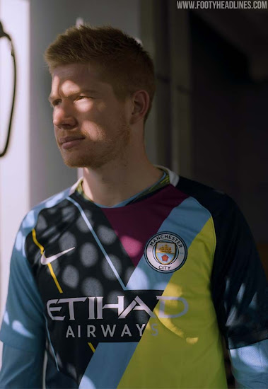4f403b905 The Nike Manchester City Celebration Mashup jersey will be released in  limited quantities (numbered from 1 to 6