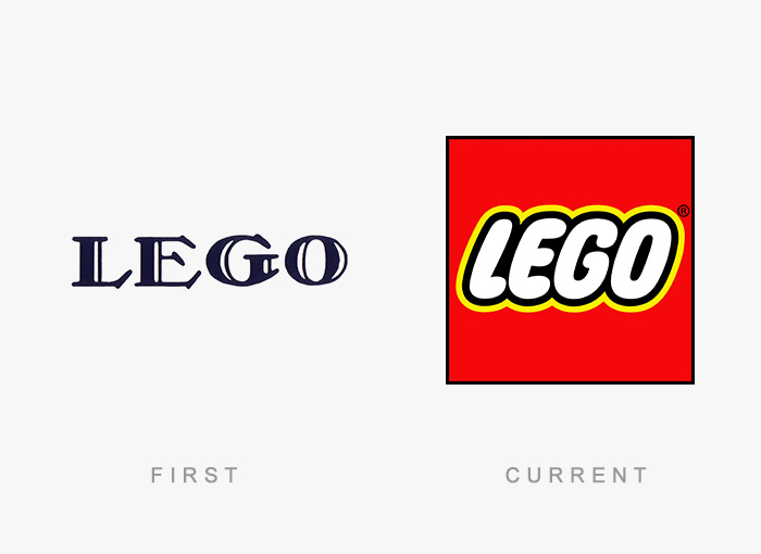 Famous Logos Evolution History