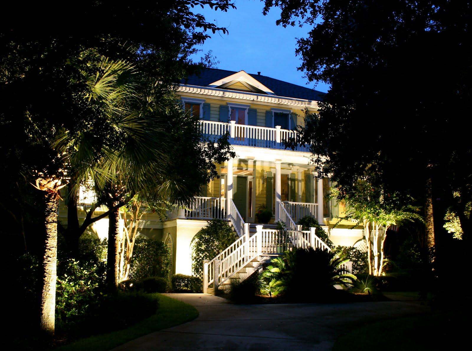 Landscape Lighting In And Around Charleston Sc