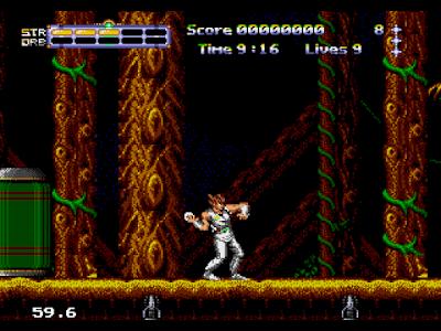 【MD】出擊飛龍2,華麗順暢的動作遊戲!