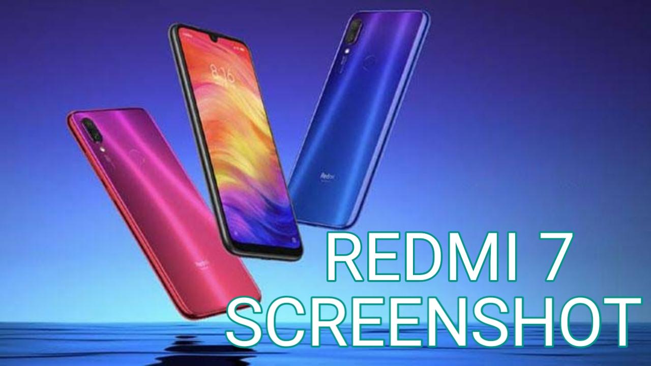 Cara Mengambil Screenshot Redmi 7