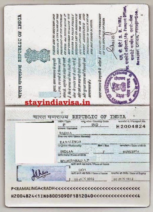 Stay India Visa Your Description Here
