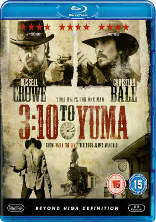 3:10 to Yuma 2007 BRRip 350MB Hindi Dubbed Dual Audio 480p