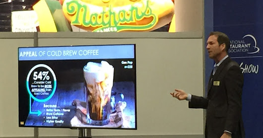 Top Non-Alcoholic Drinks Trends Seen at the 2017 National Restaurant Association Show