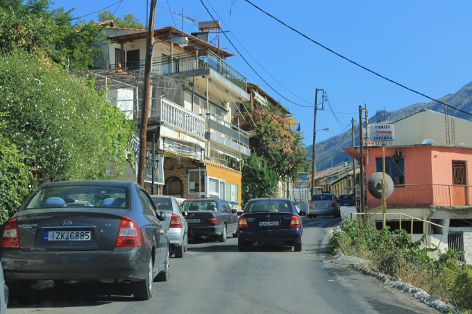 Autoilu ja auton vuokraus Lefkaksella / Kreikka 2012