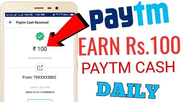 [Paytm Tricks] Get Rs 100/1000 Free Paytm Cash in your wallet