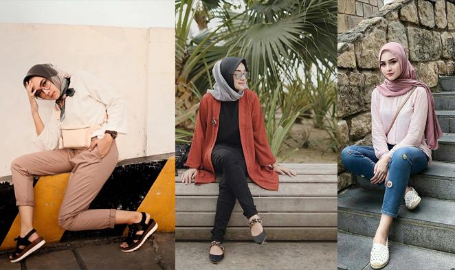 Kumpulan Foto Mentahan Model Hijab Full Body dari Selebgram Indonesia