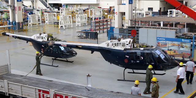 FAdeA inició tareas de mantenimiento en helicópteros del Ejército