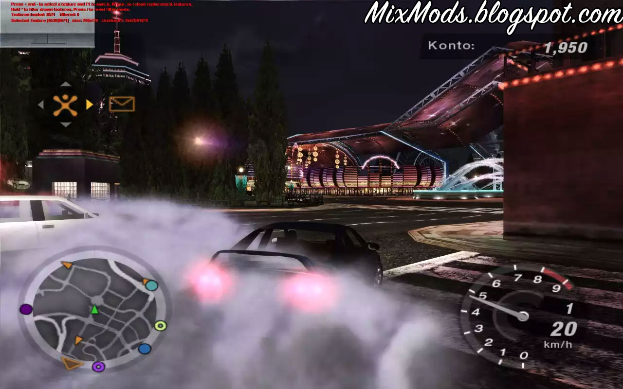 NFSU2] Dragozool HQ Retextured v2 0 - | MixMods | Mods para