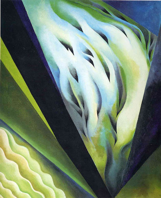 Georgia O'Keeffe  : Green and blue music Tate Modern exposition de Londres 2017