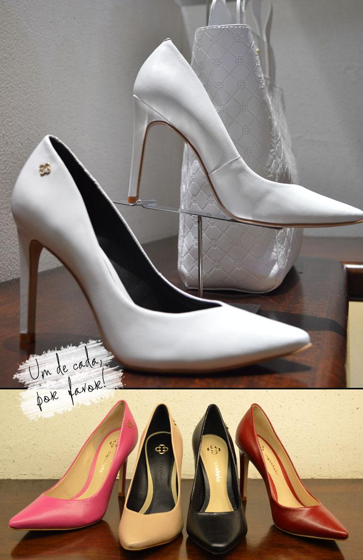 Blog da Jana, Capodarte, Joinville, Tendência, trend, moda, fashion, style, Scarpin Branco