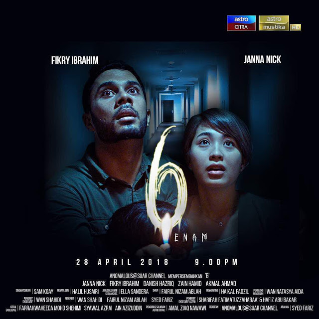 Filem 6 (Enam), 28 April 2018
