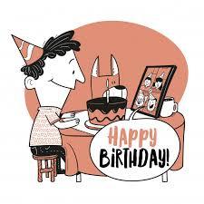 Happy Birthday Quarantine Gif