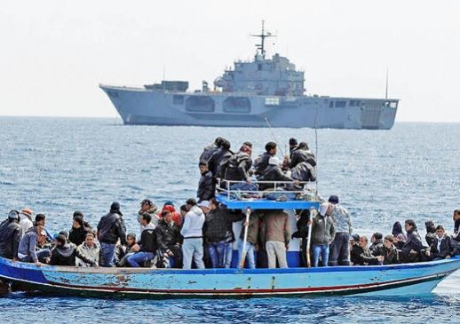 Albanian ship Lissus saves 33 Syrian immigrants