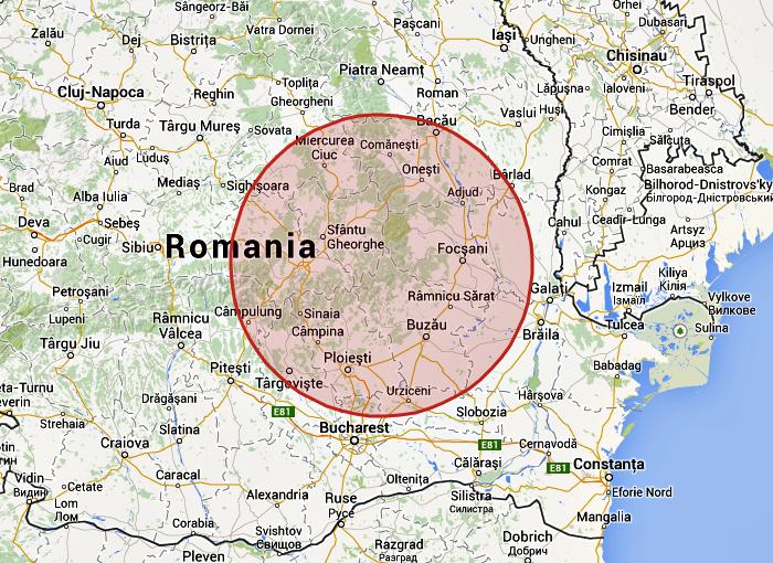 földrengés, Románia, Richter-skála, Székelyföld,