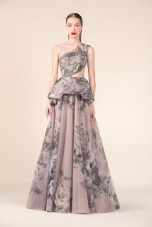 禮服也跟瘋《延禧攻略》熱潮  黎巴嫩仙牌Saiid Kobeisy東方國畫色上身