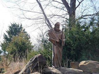 sculpture of Moses at Trinity Heights in Sioux City, Iowa