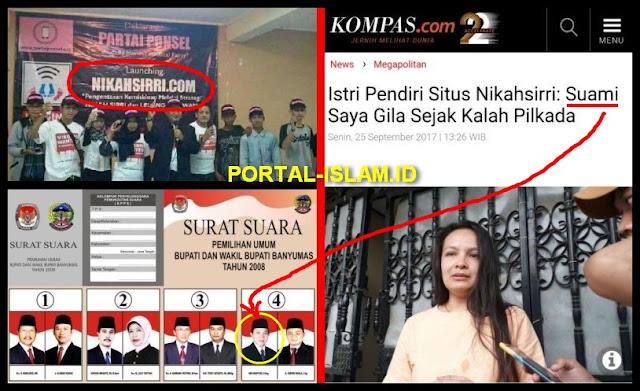 Tenyata Pendiri Situs Nikahsirri Caleg Gagal Dari PDI P