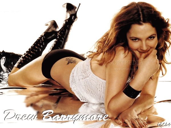 Drew Barrymore - Hollywood Cute hot and sexy actress big boobs nipples exposed hottest Images ...