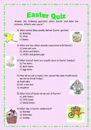 Easter ideas for activities