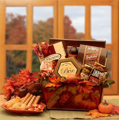 Kim's La Bella Baskets Fall Gift Baskets A Gourmet Fall Harvest Fall Gift Basket