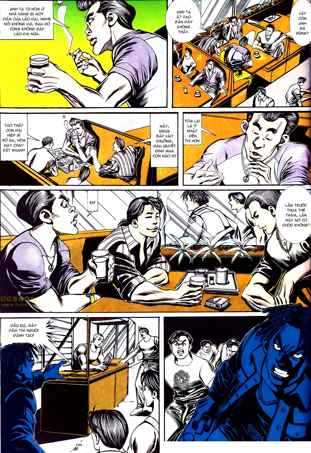 Người Trong Giang Hồ chapter 150: ai không yêu anh hùng trang 9